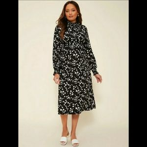 NWT Host Pick Maternity Floral Belted Dress